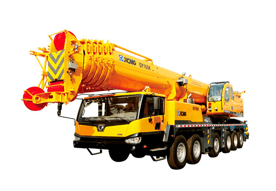 XCMG 160 ton heavy truck mobile mounted crane QY160K-I