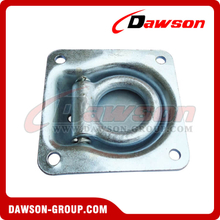 PPE-12 BS 2270kgs/5000lbs Hot Galvanizing Recessed Pan Fitting, Anchoring Fitting Single