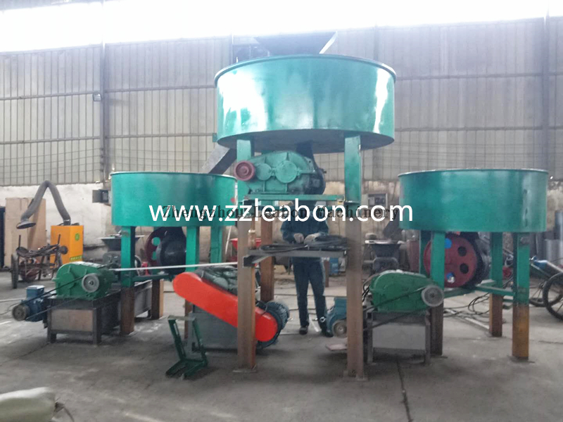 LEABON CE Coal Charcoal Briquette Machine