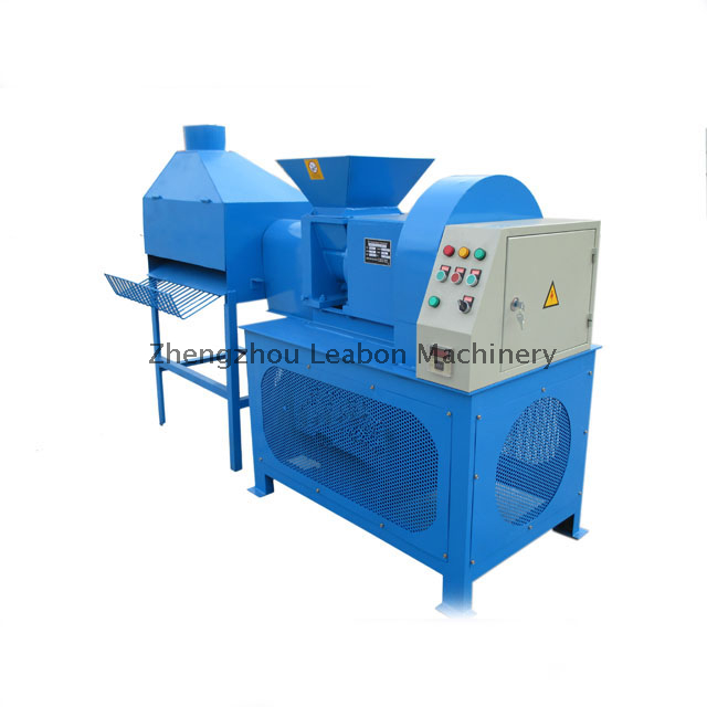 Screw Type Biomass Waste Crops Straw Stalks Briquette Press Machine