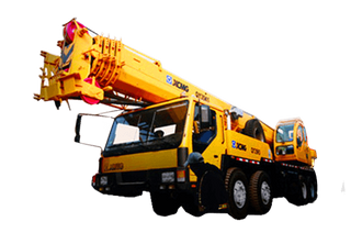XCMG small lift mobile tower crane 35 ton QY35K5