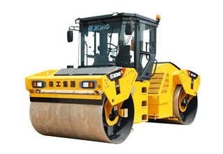 Double Wheel Road Roller XD143