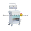 Medical Push Trolley for anesthesia crash cart