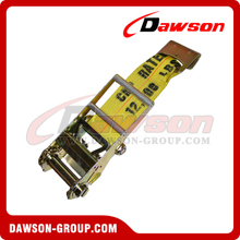 4 inch Ratchet Strap Short End with Flat Hook