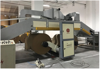 Corrugate Honeycomb Paper Board Machine