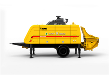 HBT8016K trailer concrete pump
