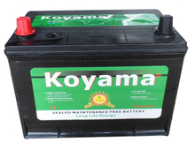 Most Popular Sealed Calcium Maintenance Free Auto Battery 80D26R 12V 70AH MF Car Battery for Starting