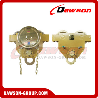 Explosion - proof Push and Geared Trolley / Non-Sparking Geared Trolley Blocks