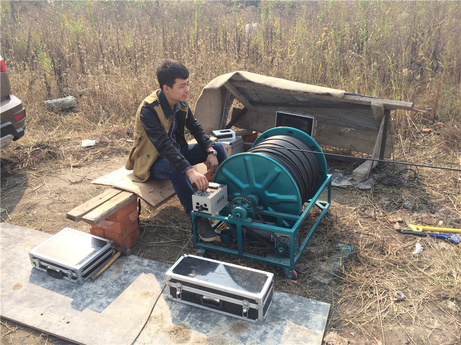 TLS Technologies Borehole Inspection Camera Application Case-Jiangsu zhouzhuang logging field-01