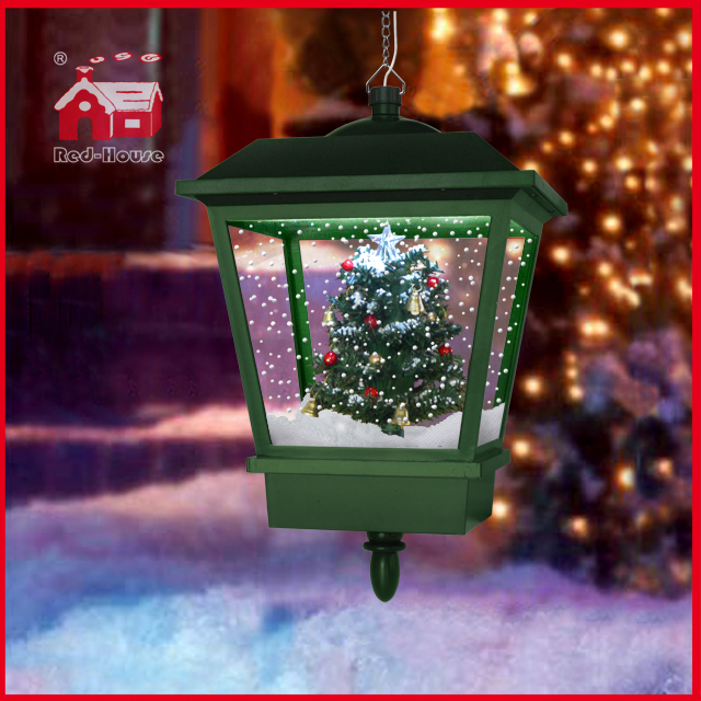 (LH27045S-G) Christmas Tree Chandelier for Christmas Decoration