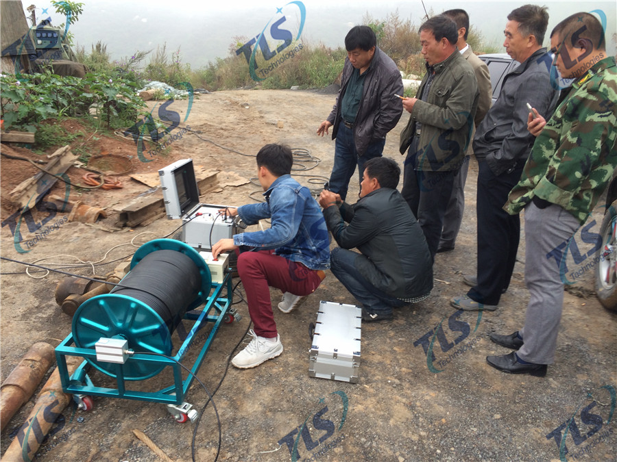 TLS Technologies Borehole Inspection Camera Application Case-Pingding Yangquan logging field-01