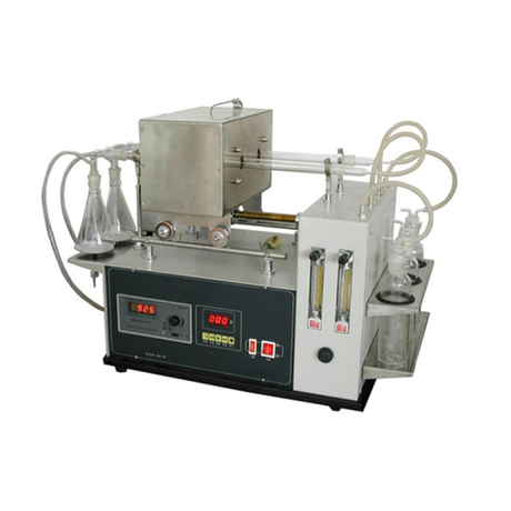 Dark Petroleum Products Sulfur Content Tester Model TPC-120