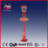 (LV180S-RR) Wholesale Rainproof Christmas Snowing Streetlamp with Falling Snow
