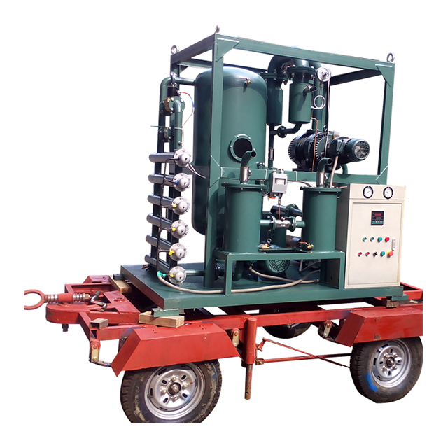 Series ZYD-S trailer equipped open type vacuum insulating oil purifier